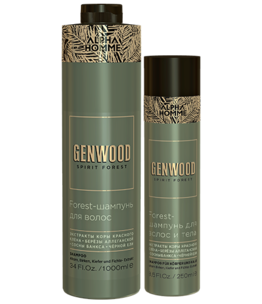 Genwood Forest Hair and Body Shampoo