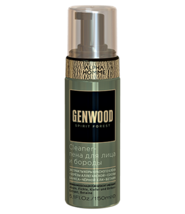 Genwood Cleaner Face and Beard Foam